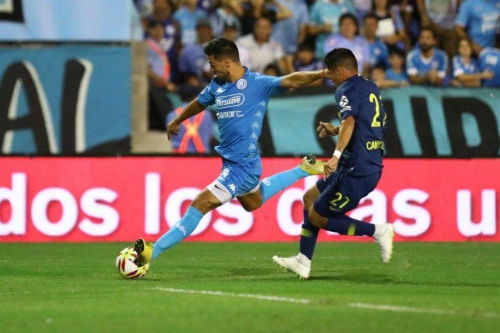 Boca no pudo aguantarlo y empató contra Belgrano en Córdoba