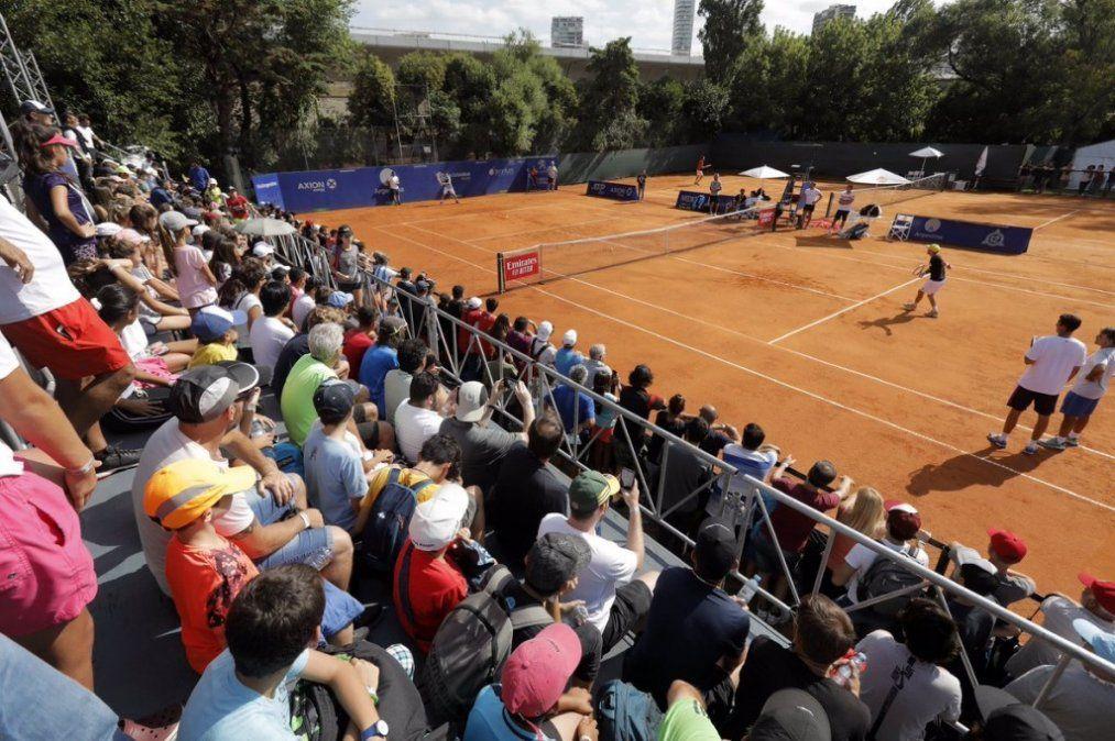 Rápida despedida de Durán en el dobles del Argentina Open