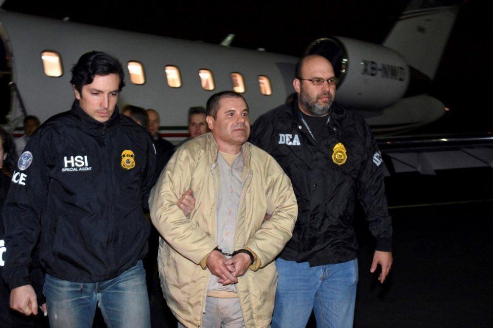 """El jurado declaró culpable al """"Chapo"""" Guzmán por narcotráfico"""