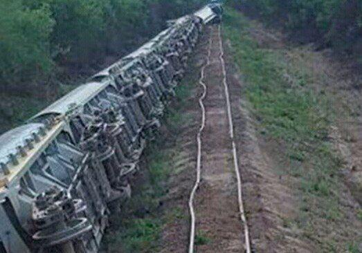 El Belgrano Cargas descarriló en Santiago con azúcar transportada desde Tucumán