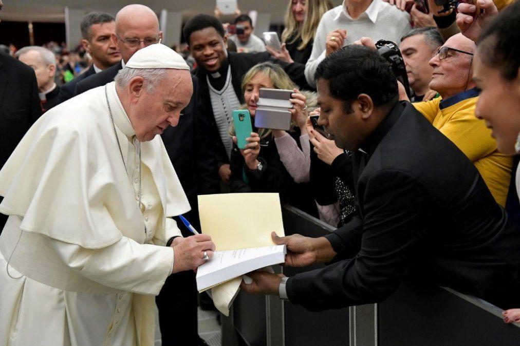 Filtran la carta secreta del Papa Francisco a Nicolás Maduro