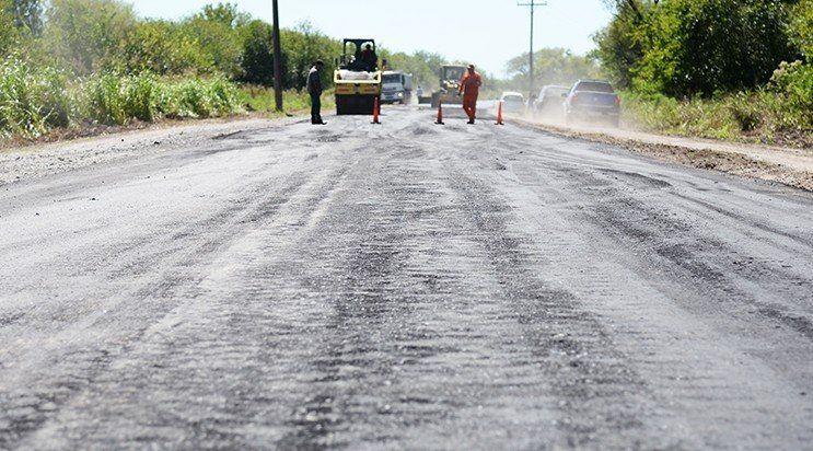 Vialidad Provincial comenzó los trabajos para reparar la ruta 323