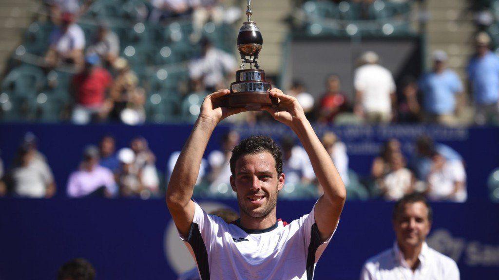 Cecchinato brilló ante Schwartzman y es campeón en Buenos Aires