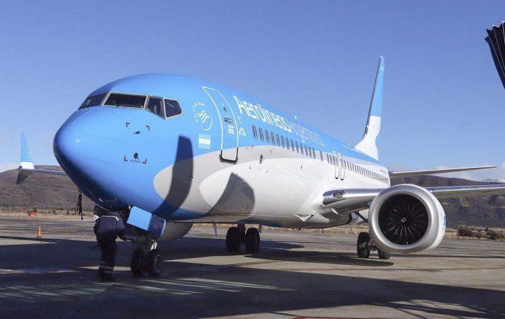 Aerolíneas Argentinas alcanzó la mejor marca de puntualidad de su historia