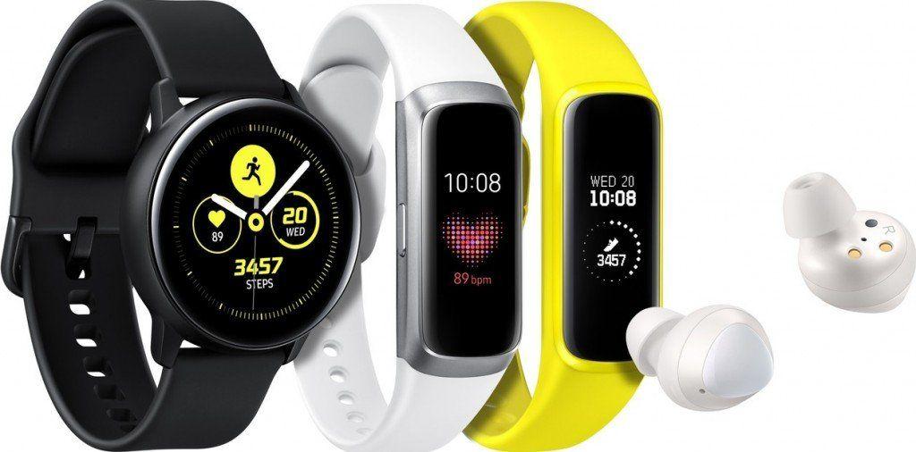 Samsung presentó sus nuevos relojes deportivos y auriculares inalámbricos