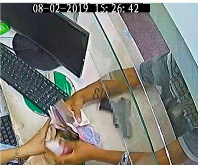 Atraparon a un ladrón tras ser identificado por un tatuaje