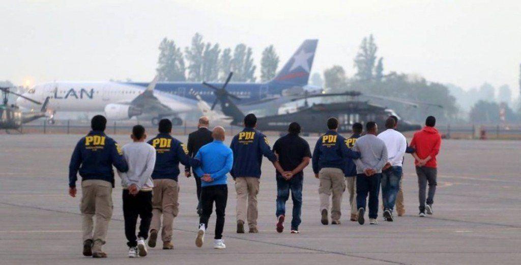 Chile expulsó a 114 extranjeros por cometer delitos o tener residencia irregular
