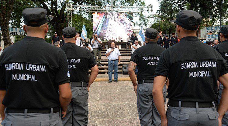 Se lanzó la Guardia Urbana Municipal de Alberdi