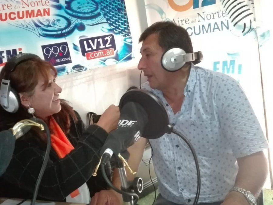 """""""Esto es para disfrutar"""" aseguró Yapura Astorga"""