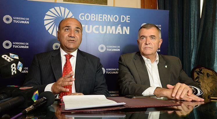 Manzur anunció que las elecciones serán el domingo 9 de junio