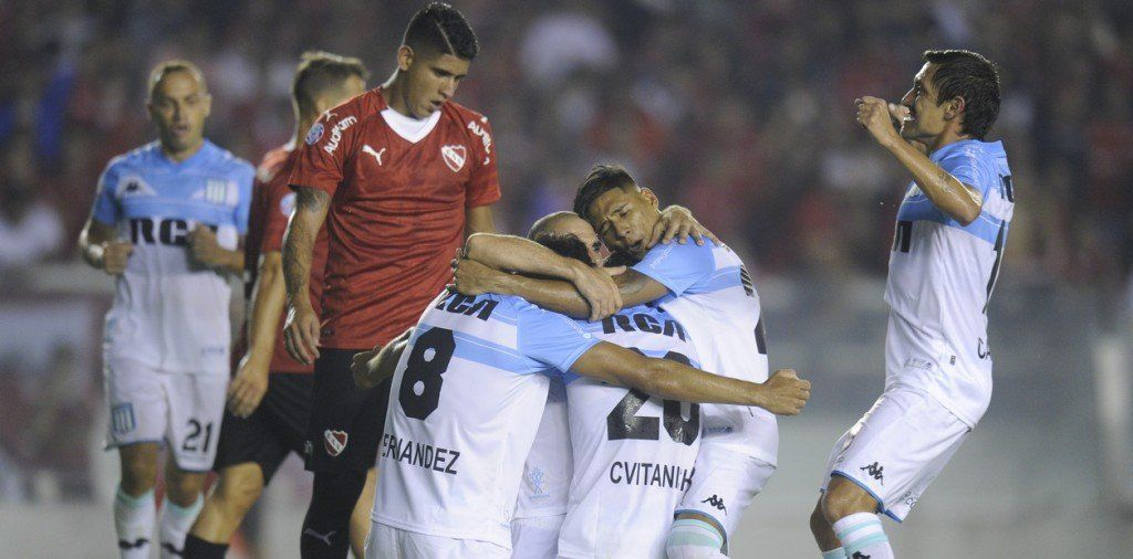 Superliga: Racing venció 3 a 1 a Independiente y es el único líder