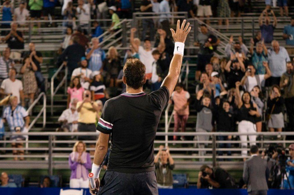 Del Potro quedó eliminado del ATP de Delray Beach