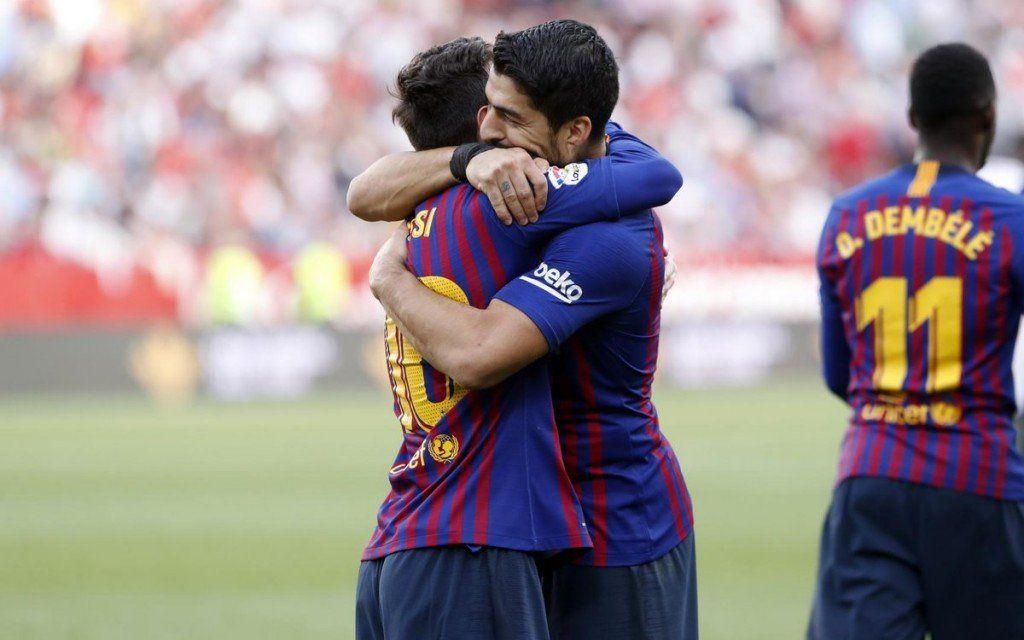 ¿Y hasta cuando Messi? Tres goles del 10 para vencer a Sevilla como visitante