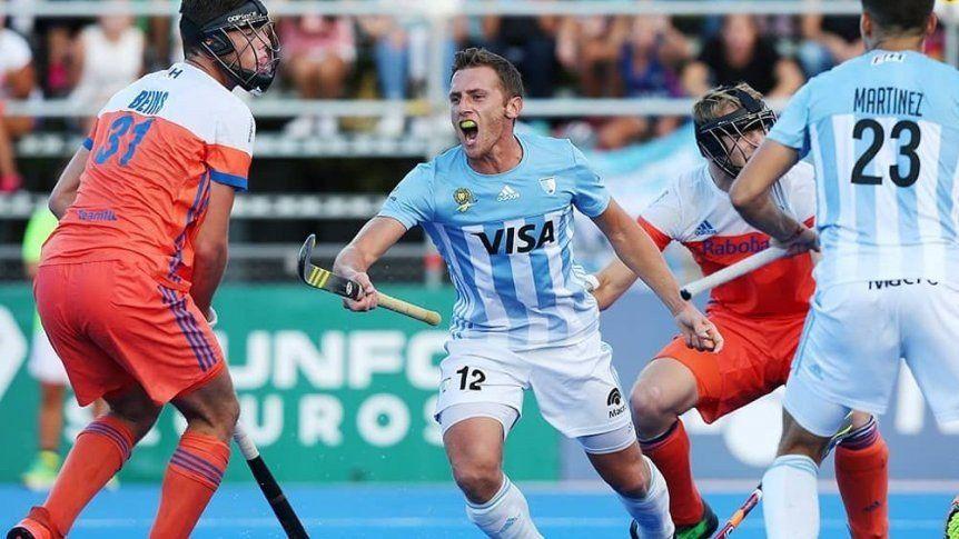 Los Leones vencieron a Holanda por la Pro League