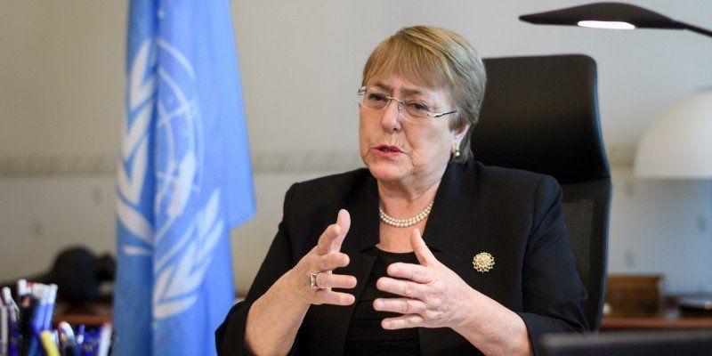 La ONU, a través de Bachelet, condenó la represión en la frontera venezolana