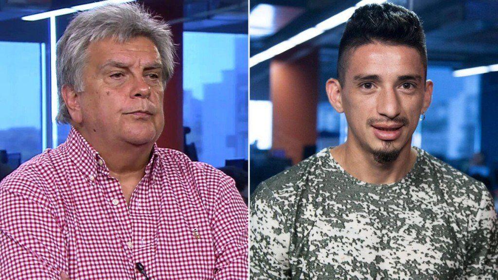 Ventura le ofreció jugar en el club que dirige al tucumano Trejo, el futbolista que maneja un Uber