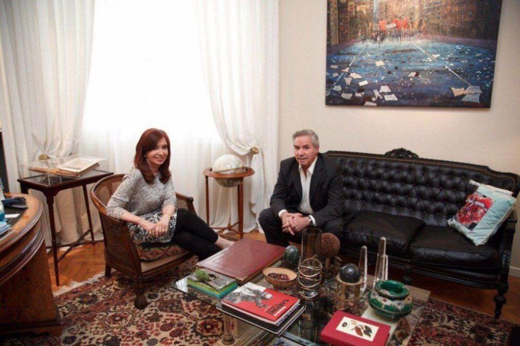 Cristina Kirchner y Felipe Solá se reunieron pensando en octubre