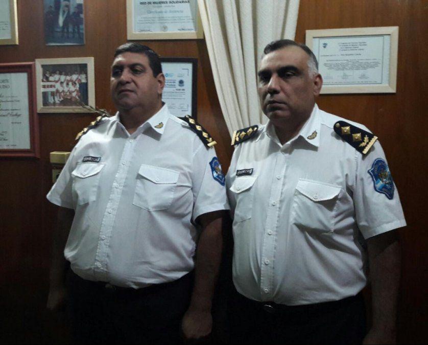 Cambios en los jefes de las unidades regionales sur y oeste de la Policía