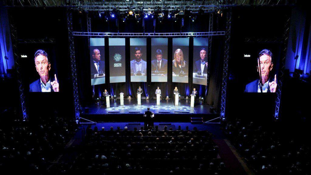 Los Debates Presidenciales Obligatorios serán el 12 y el 20 de octubre