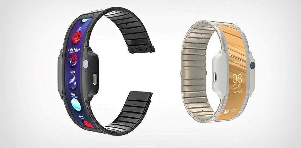 Nubia Alpha: el reloj inteligente con características de celular y pantalla flexible