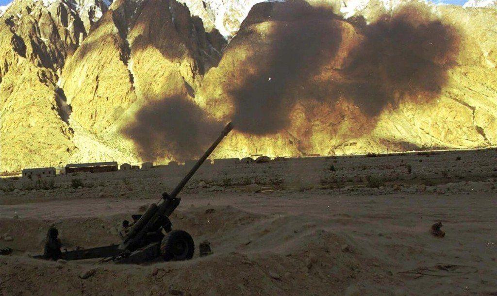 India y Pakistán intercambiaron fuego de artillería