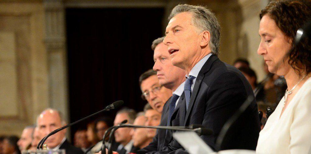 Macri anunció el aumento del 46% en la AUH