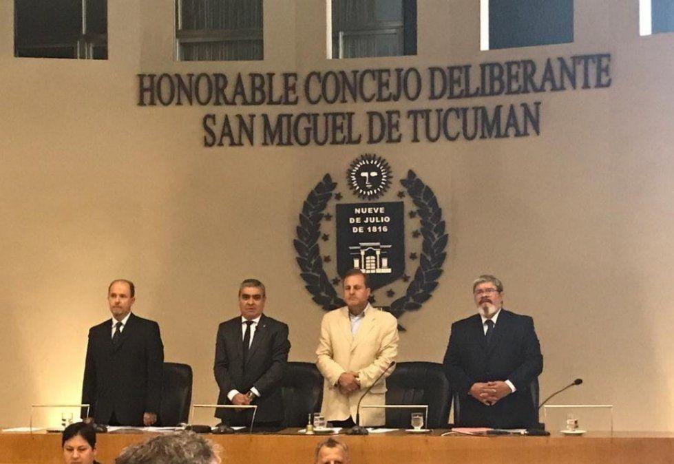 Germán Alfaro abrió el año de sesiones en el Concejo Deliberante
