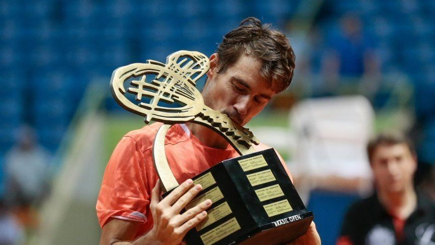 Guido Pella consiguió su primer título de ATP