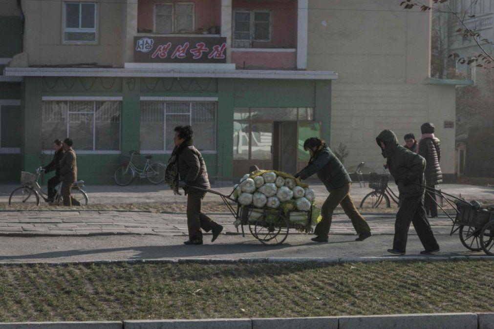 Corea del Norte registra su menor producción de alimentos en más de 10 años