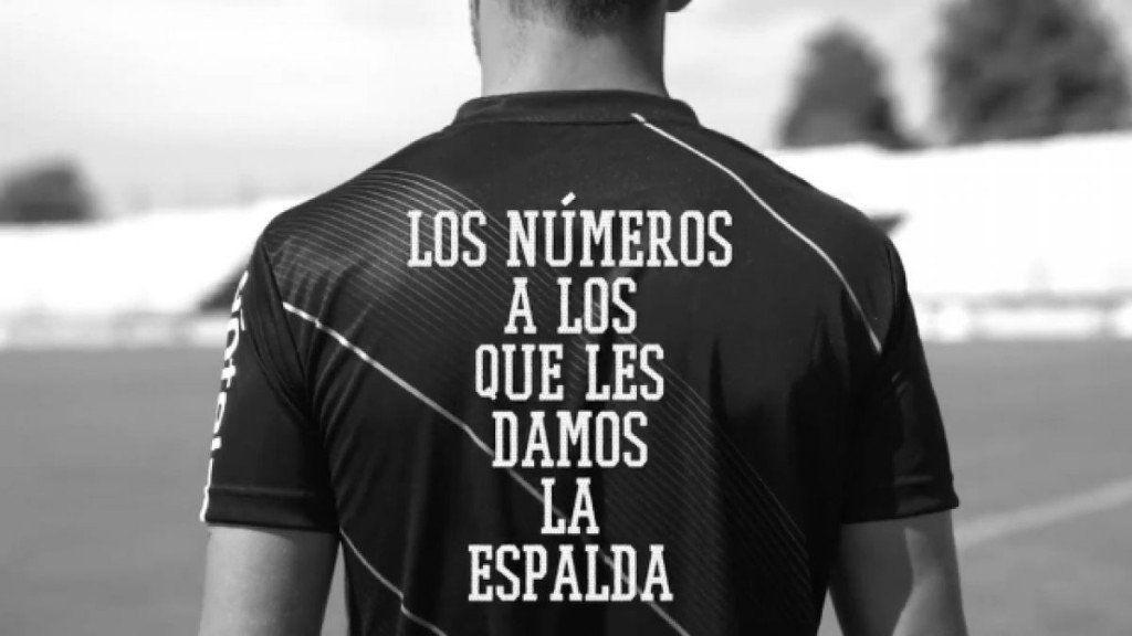 Campaña de un club uruguayo denunciando la desigualdad de género