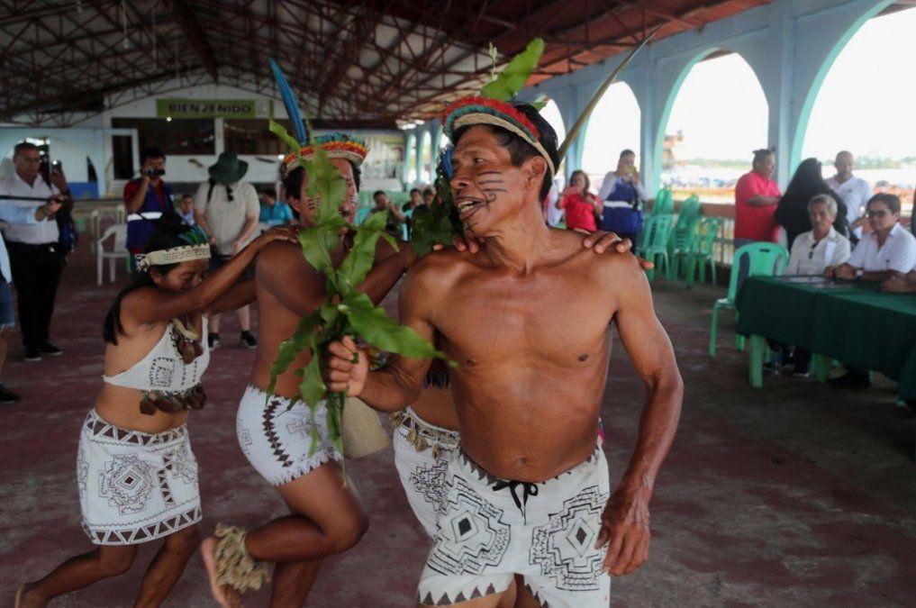Una brigada entró al Amazonas para frenar el VIH en indígenas peruanos