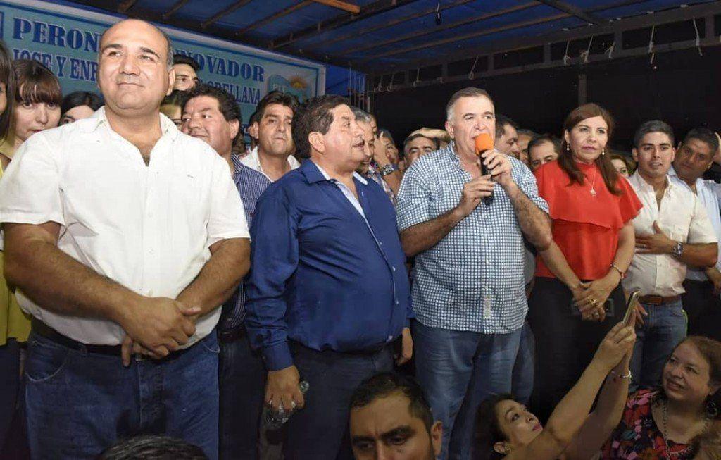 Manzur y Jaldo participaron del acto lanzamiento de los Mellizos Orellana