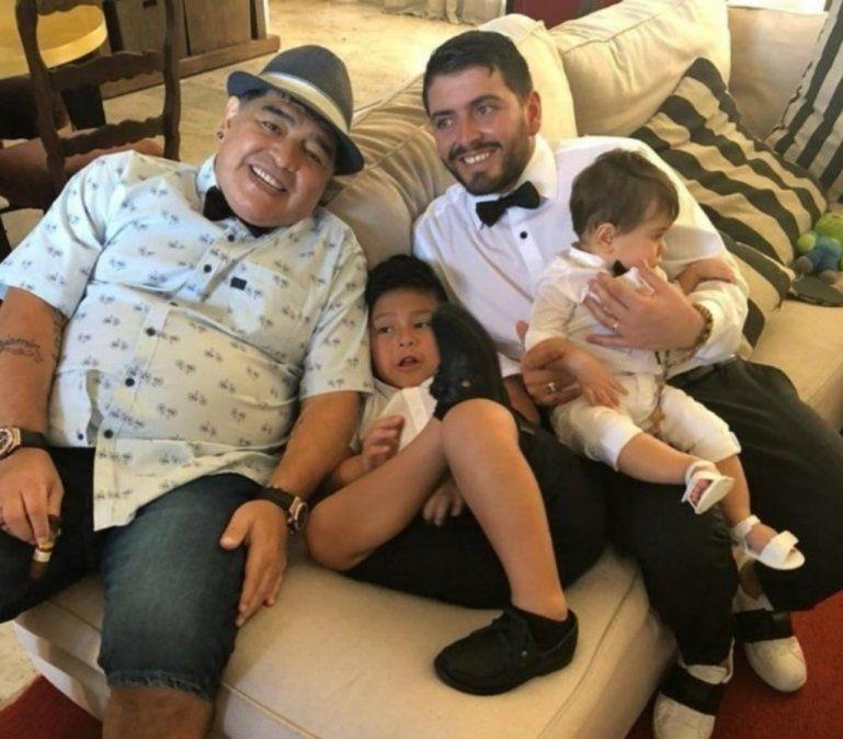 Diego Maradona tiene tres hijos más en Cuba