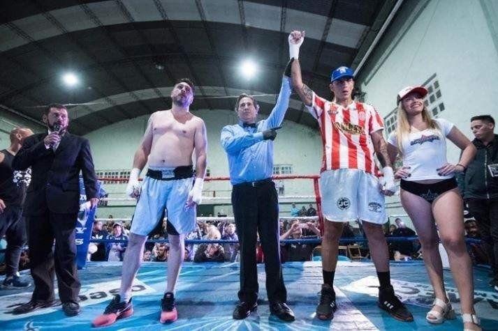 Pablo Migliore debutó como boxeador y noqueó en el primer round
