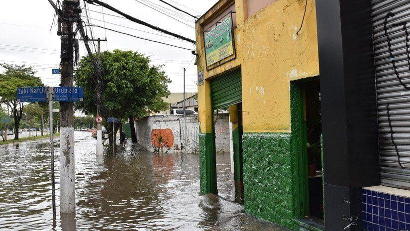 Un temporal en San Pablo provocó la muerte de siete personas