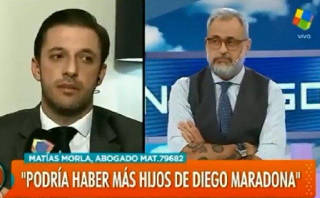 """Habría un cuarto hijo de Diego Maradona en Cuba: """"Lo ví y es igual"""", dijo Matías Morla"""