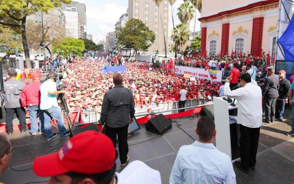 Maduro convocó a una resistencia activa de presuntas milicias paramilitares