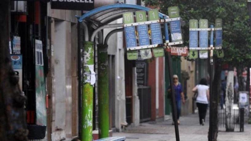 Buscan instalar cámaras de seguridad en las paradas de colectivos