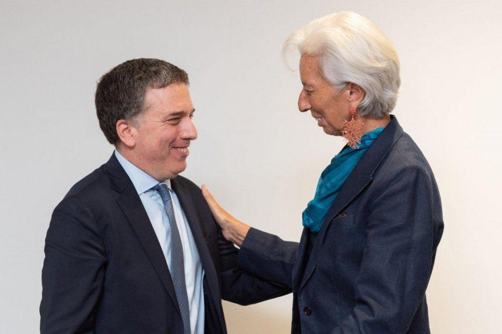 Nicolás Dujovne se reunió con Christine Lagarde en Washington: No se habló del dólar