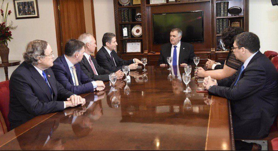 El Embajador Francés visitó la Legislatura