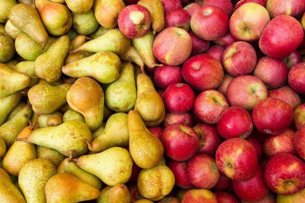 Brasil habilitó el ingreso de peras y manzanas argentinas