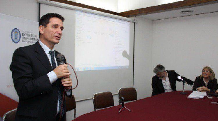 Gabriel Yedlin se reúnió con Agustín Salvia, investigador de la UCA
