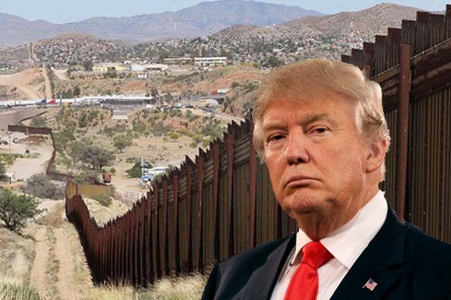 Sin fondos para construirlo, Trump impondrá el muro con un veto a la decisión del Parlamento