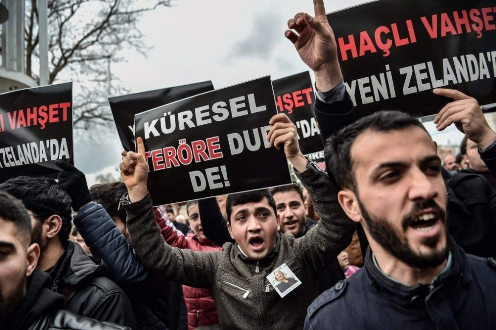 Condena internacional y protestas en el mundo musulmán tras la masacre en Nueva Zelanda