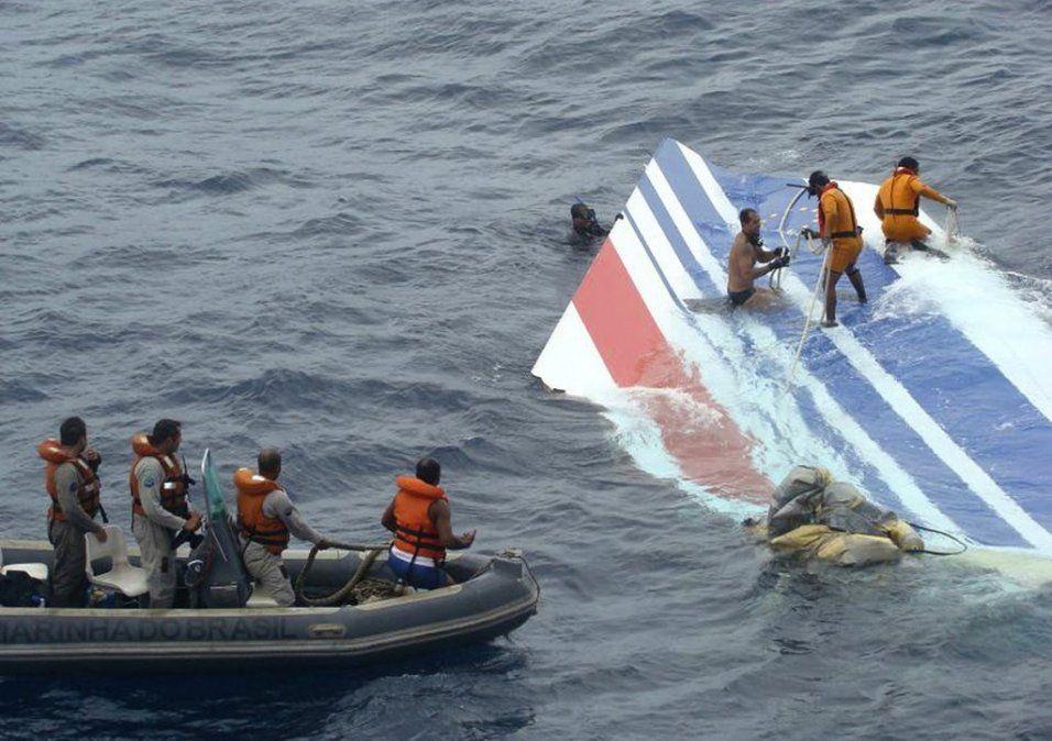 Diez años después, termina la investigación del accidente del vuelo Río-París de Air France