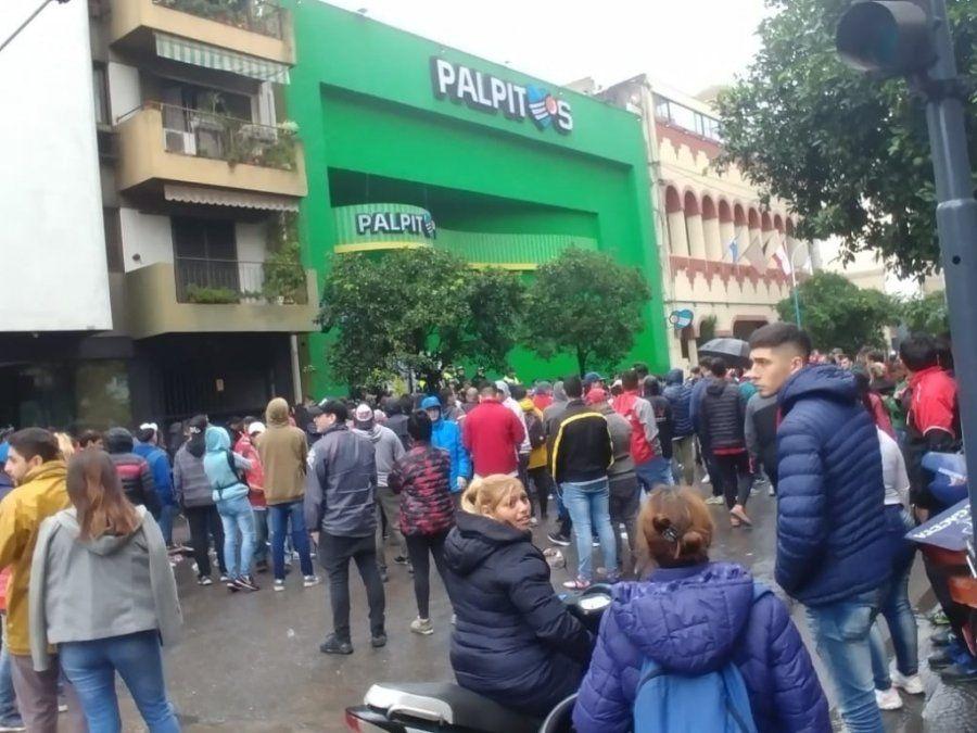 Problemas en la venta de entradas para el partido de San Martín-Boca
