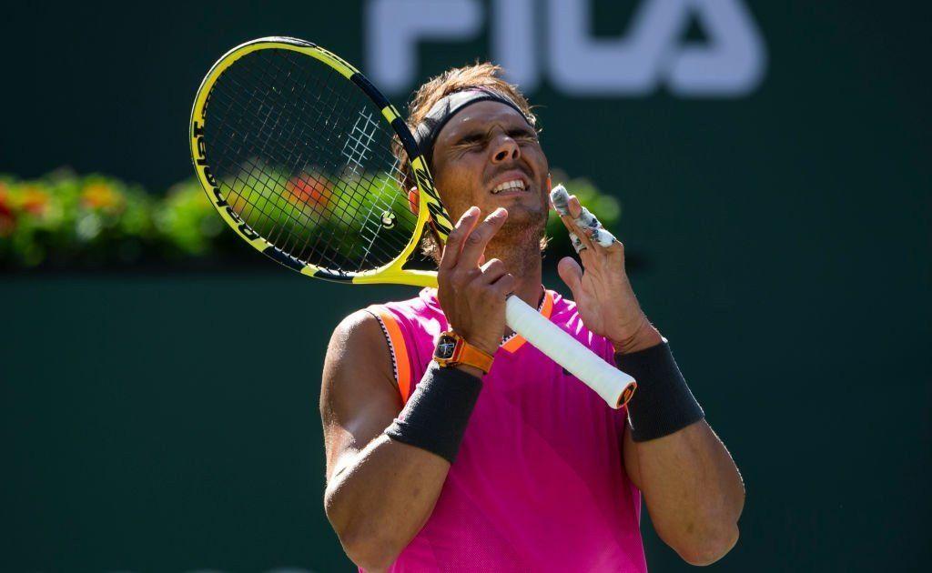 La rodilla de Nadal privó a Indian Wells de un nuevo clásico tenístico