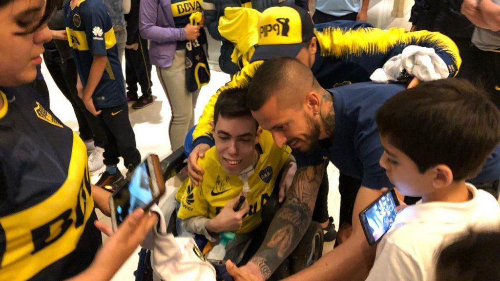 El gran gesto de los jugadores de Boca en Tucumán