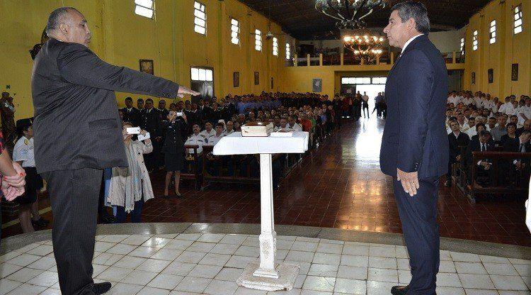 El ministro Maley tomó juramento a las flamantes autoridades del Servicio Penitenciario