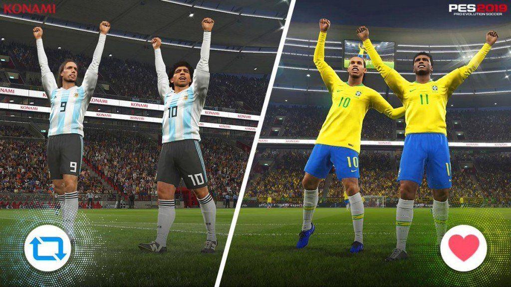 Dos gamers argentinos clasificaron a las finales regionales americanas de la Liga PES 2019